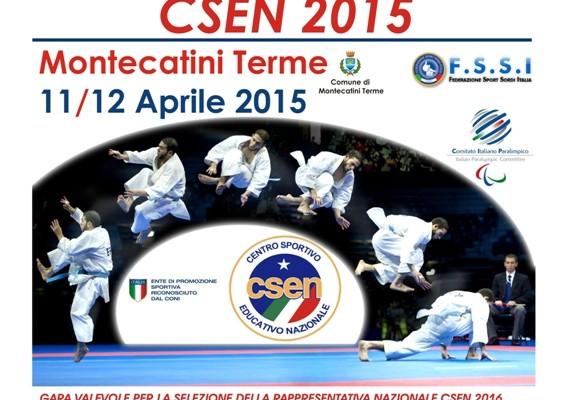 Karate Coppa Italia CSEN 2015 Montecatini