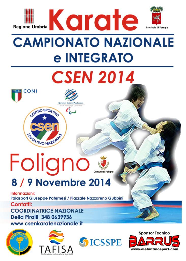 Campionato Nazionale e Integrato CSEN 2014