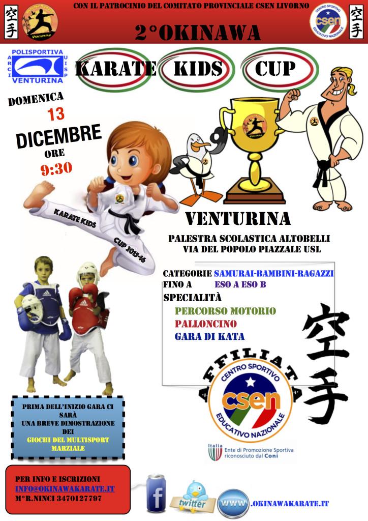 Okinawa Karate Kids Cup 2015 - Venturina