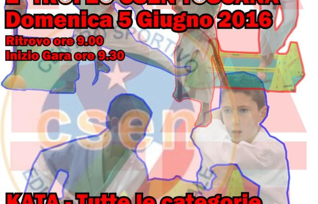 2016-Locandina-1°TROFEO-CSEN-TOSCANA