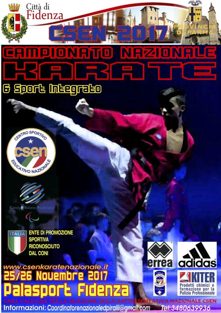 Karate Csen Fidenza 2017