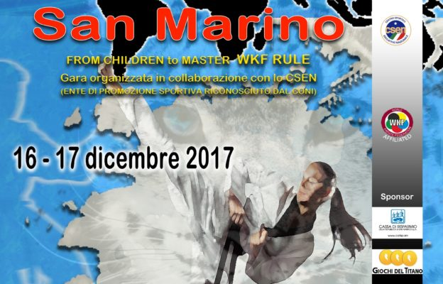 X Open Karate San Marino 2017