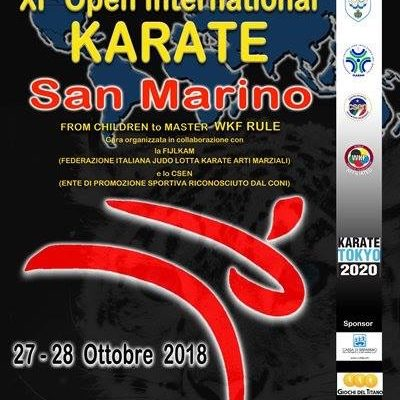 Karate csen open internazionale San Marino 2018